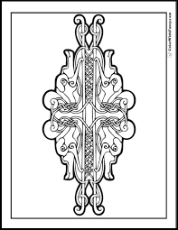 ColorWithFuzzy Celtic Coloring Pages Animal Designs