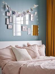 eine schlafzimmerwand die hervorsticht ikea