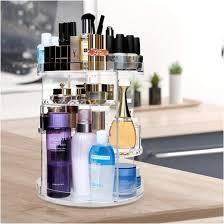 cecolic make up kosmetik organizer 360 drehbar kosmetikbox