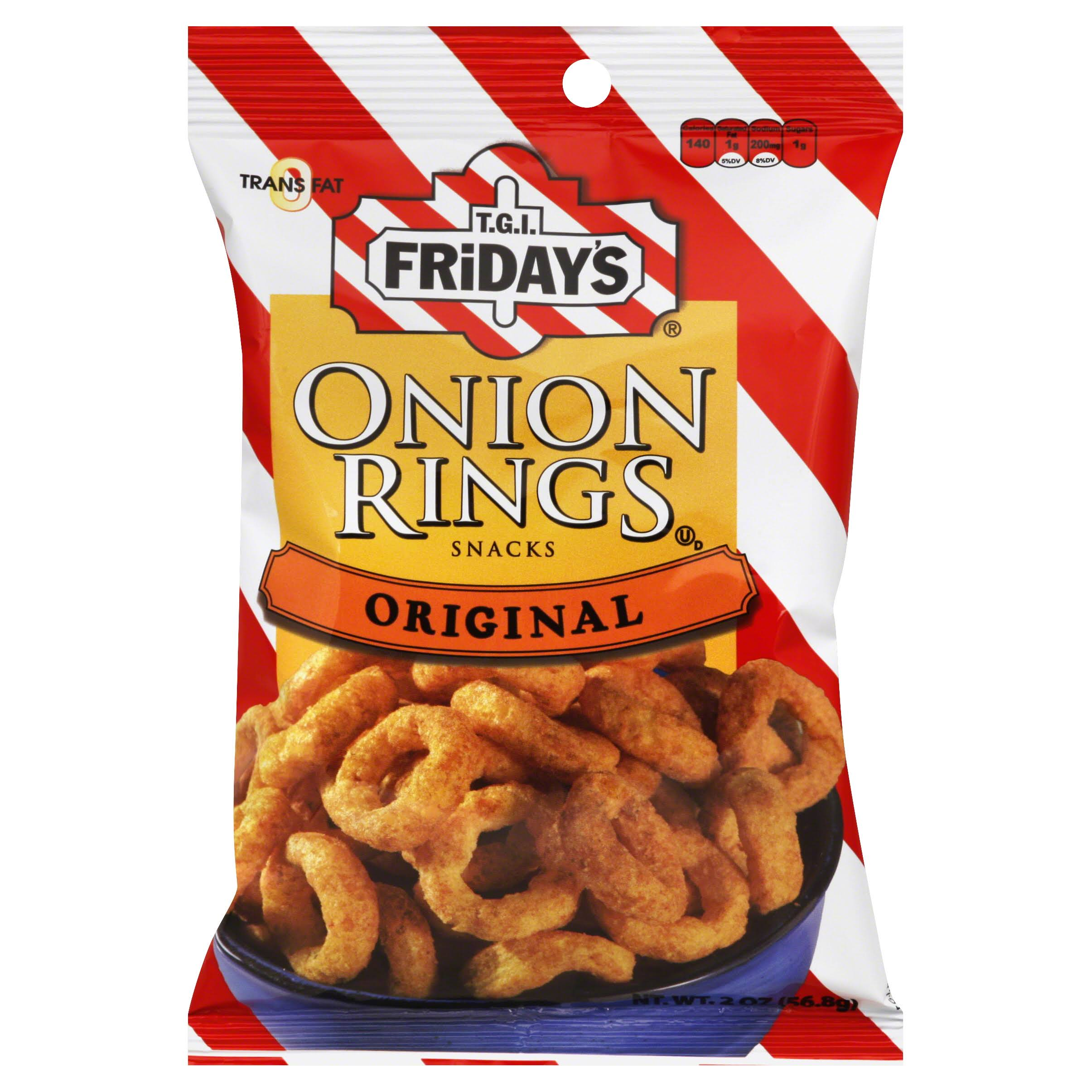Tgi Fridays Onion Rings Snacks