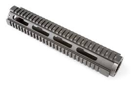 OpticsPlanet 12.6 Inch Quad Rail, Free Floating Handguard - Rifle Length