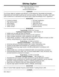 Truck Dispatcher Resume Sample Unforgettable Driver Examples To Stand Out Tow