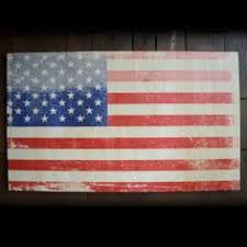 Rustic American Flag Artwork On Wood Show Your Patriotic Spirit With A Distressed