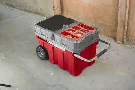Keter New Masterloader Plastic Portable Rolling Organizer Tool Box ...