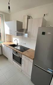 respekta premium küchenzeile landhaus 220 cm lärche weiß