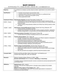 Chronological Resume Example A Lists Your Work History In Reverse Order With