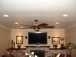 wireless overhead lighting arrangement for living room bedroom