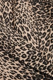 odette leopard print washed silk pajama set equipment us the