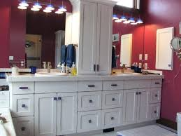 Houzz Bathroom Vanity Lighting by Bathroom Cabinet Hardware White Bathroom Vanity With Glass Cabinet