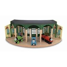 thomas friends wooden railway tidmouth sheds brand new ebay
