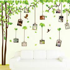 l arbre a cadre 180 300 cm décoratif vert arbre cadre photo sticker mural