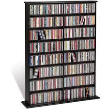 Leslie Dame Sliding Door Media Cabinet by Cd Dvd Storage Walmart Com