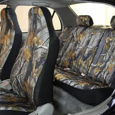 100 Camouflage Seat Covers For Trucks Hunting Full Set FH Group
