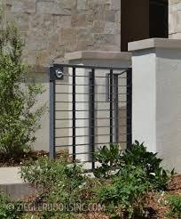 100 Contemporary Gate Modern Courtyard S By Ziegler Doors Inc