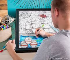From Hobby Lobby Let Your Creativity Flow On These Made To Display Coloring Posters