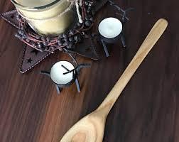 handmade wood spoon etsy