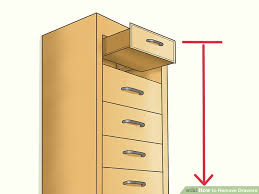 5 ways to remove drawers wikihow