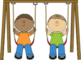 Picture Royalty Free Download Clip Art Images On A Swing Banner Stock Kids Playing Outside