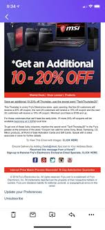 Frys In-Store/USA] Frys 20% Off Any Purchase 199 And Above: Switch ... Motorola Rve Me 3999 With Promo Code Frys Electronics Frysfoodcom Food Pharmacy Reviews Coupons Rx Drug Stores Coupon Matchups Mylitter One Deal At A Time 20 Off Instore Purchase Tuesday 219 Instoreusa Off Minimum Purchase Of 299 And Above Food Coupons Babies R Us Ami Email Exclusive Moto X4 Unlocked 299 Tax In Black Friday Ads Sales Doorbusters Deals 2018 San Diego Frys Best Sale Xmen First Class Aassins Creed 4k Blu Ray 999each Wpromo Code 30 The Edinburgh Jewellery Boutique Promo Discount While Supplies Last 65 4k Tv For 429 At Clark