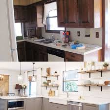 1970s Kitchen Gets A Modern Farmhouse Makeover
