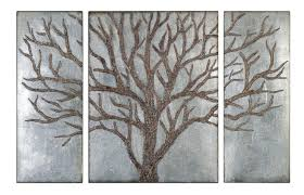 Modern Rustic Metal Wall Art Contemporary Image Of Wood Decorations