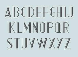 deco typography history rune simulation fonts