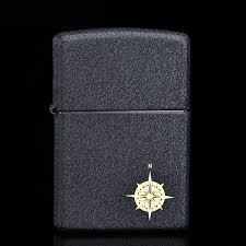 Buy Genuine Zippo Lighter Black Lacquer Crack Love Compass Zppo American Original Gift In Cheap Price On Malibaba
