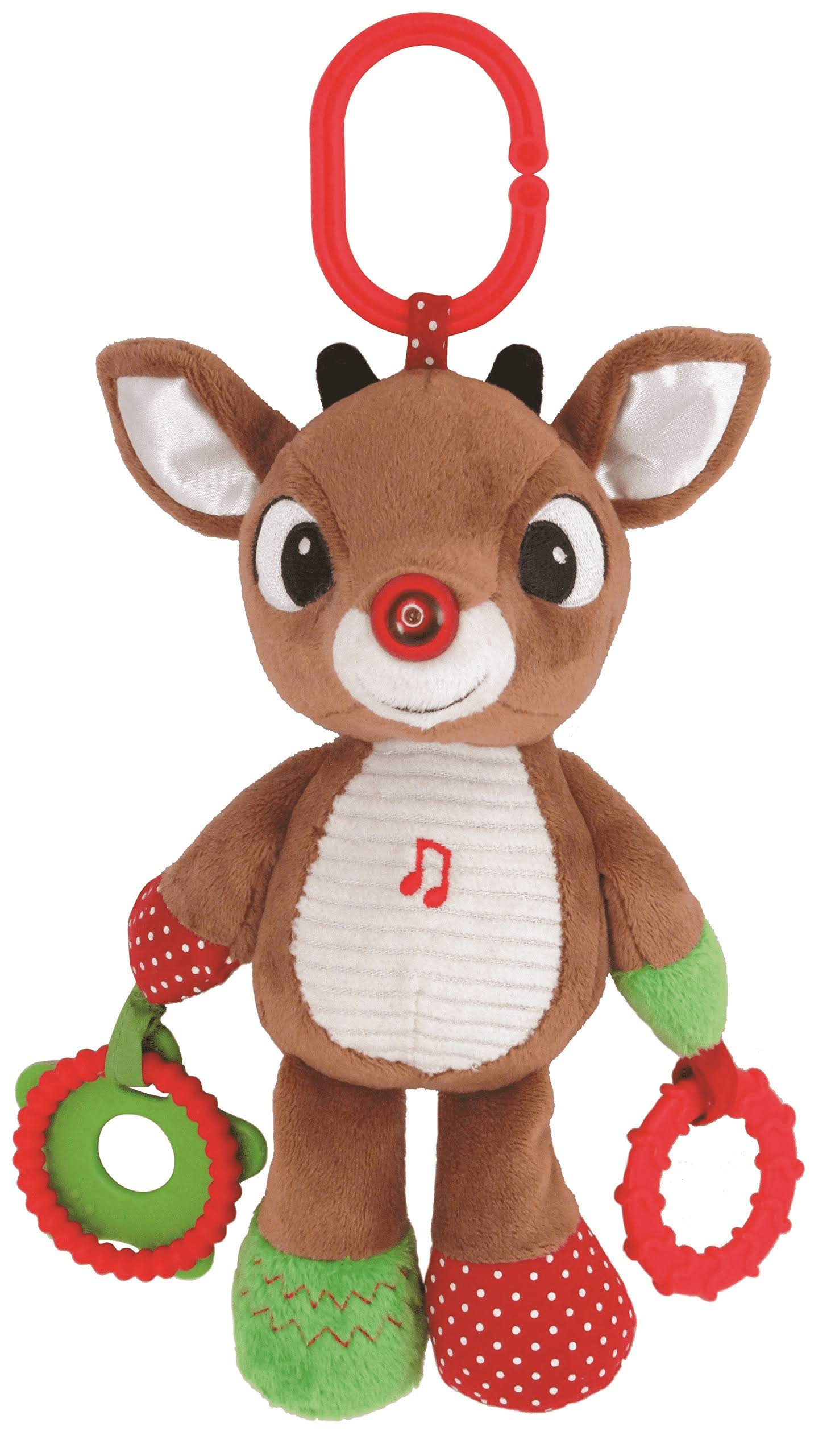 Rudolph The Red Nosed Reindeer Plush Musical Light Up Activity Toy