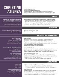 Excellent Sample Resume For Architect In 2016 2017 Top