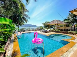 100 Absolute Beach Front Villa With Private Jet Pool And Garden Rawai