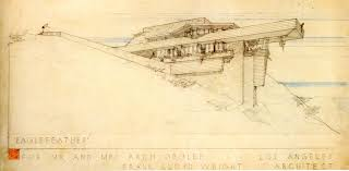 100 Frank Lloyd Wright Sketches For Sale For Beautiful Framed