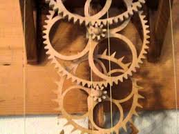 simplicity my homemade wooden gear clock youtube