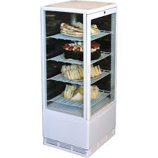 White Cake And Sandwich Display Refrigerator Model BSF170W 95