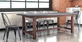Distressed Gray Dining Table Grey Room Set