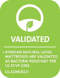 KYMDAN Mattresses Are Bacteria Resistant As Validated By UL