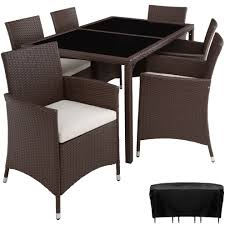 Rattan Garden Furniture Set Lissabon 6+1 With Protective Cover Black/brown 3pc Black Rocker Wicker Chair Set With Steel Blue Cushion Buy Stackable 2 Seater Rattan Outdoor Patio Blackgrey Bargainpluscomau Best Choice Products 4pc Garden Fniture Sofa 4piece Chairs Table Garden Fniture Set Lissabon 61 With Protective Cover Blackbrown Temani Amazonia Atlantic 2piece Bradley Synthetic Armchair Light Grey Cushions Msoon In Trendy For Ding Fabric Tasures Folding Chairrattan Chairhigh Back Product Intertional Caravan Barcelona Square Of Six