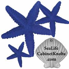 White Starfish Cabinet Knobs by Cabinet Knobs 121 Small