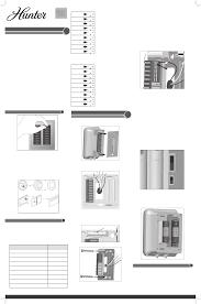 Hunter Ceiling Fan Manual Pdf by Hunter Fan Thermostat 44277 User Guide Manualsonline Com