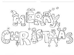 175 Best Kids Coloring Pages Images On Pinterest Intended For Merry Christmas Print
