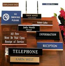 Name Plates Sign Plates Manufacturer Acrylic Tags Exporter