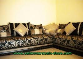 tissu marocain salon moderne salon marocain déco