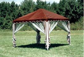 Garden Party Canopy 10ft Square Portable Shade