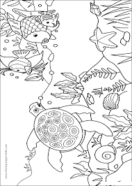 Rainbow Fish 10 Coloring Page For Kids And Adults From Cartoons Pages