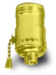 l sockets l holders brass finish metal shell medium