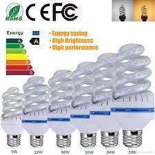 bright spiral led corn light bulbs smd2835 e27 b22 led bulb