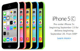 Walmart to sell new iPhones with a discount take iPhone 5c pre