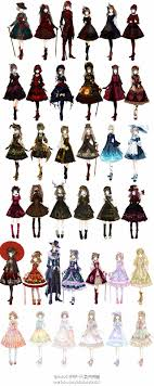 Lolita Dresses These Are Actually Really Cool O I Might Draw Some