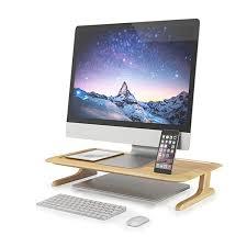 verkaufen umwelt freundliche stehen natur einstellbare computer holz schreibtisch pc buy großhandel custom größe farbe woods computer tisch für