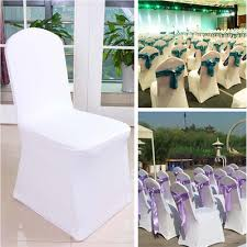 [L E] 5PCS Modern Wedding Chair Covers Stretch Elastic Banquet Chair Covers  Party Dining Seat Hotel Chair Covers White L E 5pcs Modern Wedding Chair Covers Stretch Elastic Banquet Party Ding Seat Hotel White Wedding Chair Hoods Hire White Google Search Yrf Whosale Spandex Red Buy Coverselegant For Wdingsred Rooms Amazoncom Kitchen Case Per Cover Covers Ding Slipcovers Protector Printed Removable Big Slipcover Room Office Computer Affordable Belts Sewingplus Dcor With Tulle Day Beauty And The Cute Flower Prosperveil Pink And Black Innovative Design Ideasa Hot Item Style Event Sash