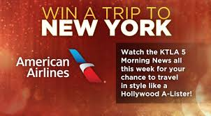 """American Airlines and KTLA 5 want to give you a Hollywood """"A List"""" away Watch the KTLA 5 Morning News all this week between 6 30am and 8 30am for the"""